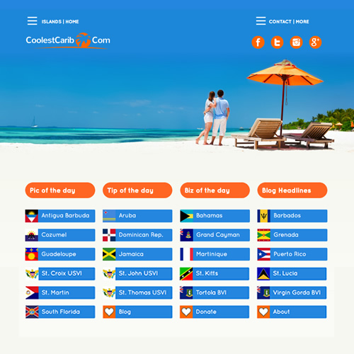 CoolestCarib Caribbean Travel Info Network